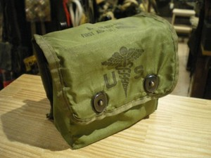 U.S.First Aid Kit Pouch 1977年 used