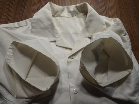 "U.S.NAVY Shirt Utility ""Dental Techn~"" sizeM? used"