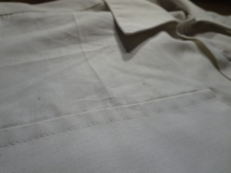 "U.S.NAVY Shirt Utility ""AVIATION ST~"" sizeS? used"