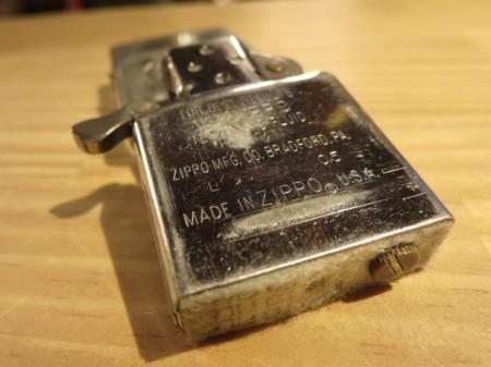 "U.S.MARINE CORPS Zippo""LIMITED EDITION"" 2002年 used"