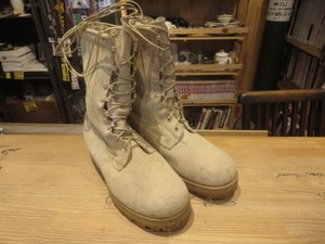 U.S.Combat Boots Leather GORE-TEX size9W used
