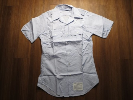 U.S.AIR FORCE Utility Shirt Poly/Ctn size14 1/2new