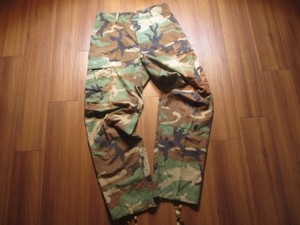 U.S.Trousers Combat Woodlnd 100% Cotton sizeS used