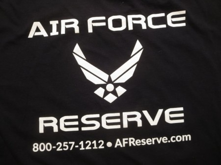 U.S.AIR FORCE RESERVE T-Shirt sizeXL used