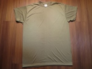 U.S.T-Shirt MOISTURE WICKING Irregular? sizeL new