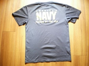 U.S.NAVY T-Shirt Physical Fitness sizeS used