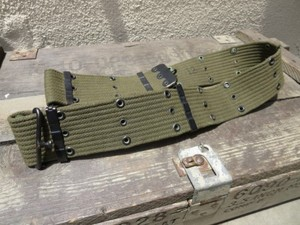 U.S.Pistol Belt Cotton M-1956 VietNamWar used
