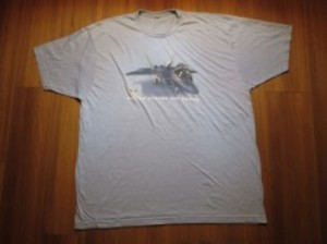 "U.S.AIR FORCE T-Shirt ""F-22 Raptor"" sizeXL? used"