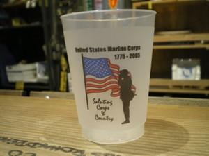 "U.S.MARINE CORPS Pla Glass ""BIRTHDAY BALL?"" 2005年"