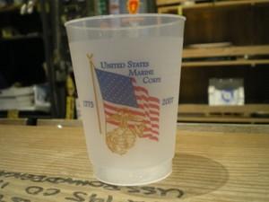 "U.S.MARINE CORPS Pla Glass ""BIRTHDAY BALL?"" 2007年"