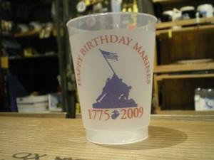 "U.S.MARINE CORPS Pla Glass ""BIRTHDAY BALL?"" 2009年"