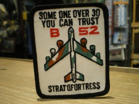"""U.S.AIR FORCE Patch """"B-52 STRATOFORTRESS"""""""