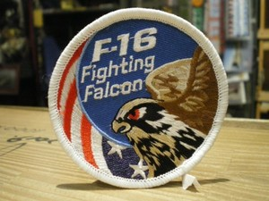 """U.S.AIR FORCE Patch """"F-16 FIGHTING FALCON"""""""