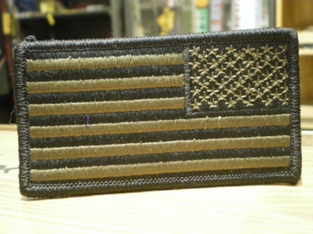 """U.S.NAVY Patch """"The Stars and Stripes"""" AOR2 used"""