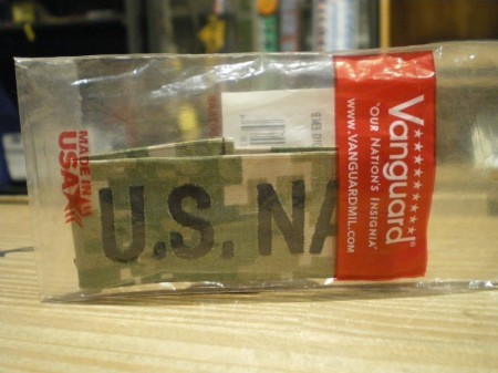 """U.S.NAVY Tab """"U.S.NAVY"""" AOR2 new"""