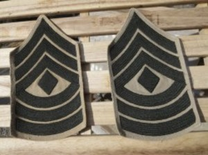 """U.S.MARINE CORPS Patch """"First Sergeant"""" used"""