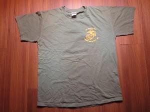 "U.S.MARINE CORPS T-Shirt ""2D RADIO BN"" sizeM used"