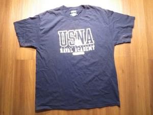 U.S.NAVAL ACADEMY T-Shirt sizeL used