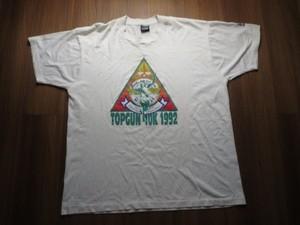 "U.S.NAVY T-Shirt ""TOP GUN 10K"" sizeXL used"