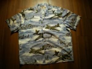 U.S.ARMY AIR FORCE Aloha Shirt sizeXL used