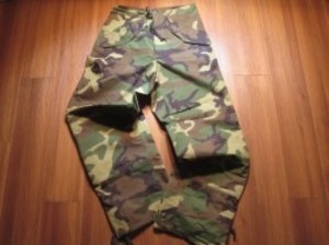 U.S.Gore-Tex Trousers Woodland sizeSmall-Long new