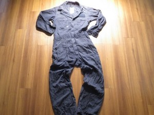 U.S.NAVY Coveralls 100%Cotton FR size40L used