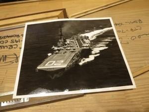 """U.S.NAVY Photo """"USS BENNINGTON CVA-20"""" 1958年"""