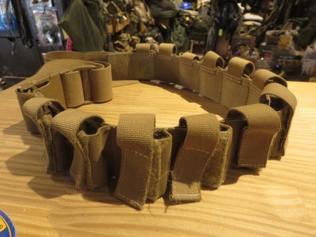 """U.S.40mm GMR Pouch Belt """"TACTICAL TAILOR"""" used"""