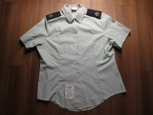 U.S.ARMY Shirt AG415 Woman's 1998年 sizeL used