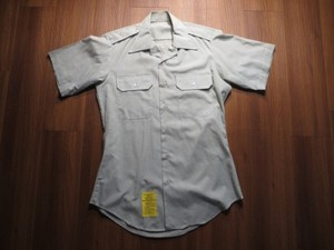 U.S.ARMY Shirt AG415 1988年 size15 used