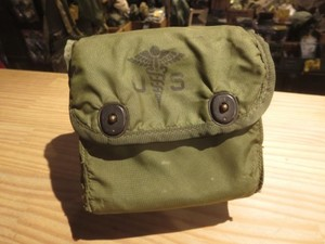 U.S.First Aid Kit Pouch 1974年 used