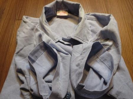U.S.NAVY Shirt Chambray Women's sizeS used
