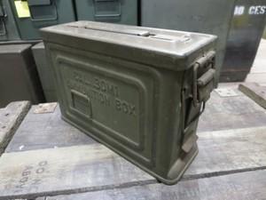 U.S.ARMY Box Steel Ammunition 1940年代 used