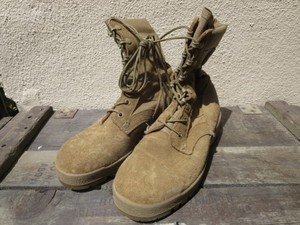 U.S.Combat Boots hot Weather Coyote? size5.5W used