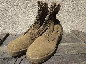 U.S.Combat Boots hot Weather Coyote? size7W used
