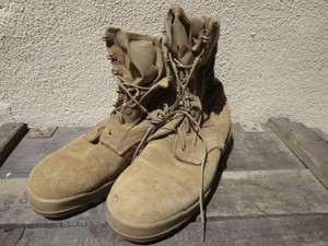 U.S.Combat Boots hot Weather Coyote? size7.5W used