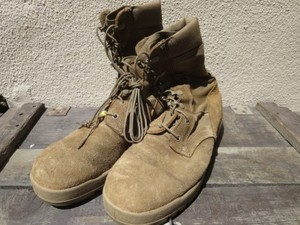 U.S.Combat Boots hot Weather Coyote? size9.5R used