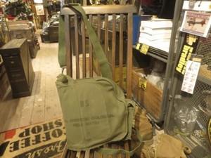 U.S.Gas Mask Bag M-17 Cotton used