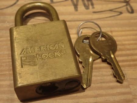 "U.S. Lock ""AMERICAN LOCK"" used"