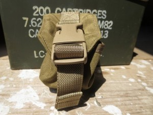 U.S.MARINE CORPS Pouch Frag Grenade Coyote used