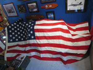 "U.S.Flag ""The Stars and Stripes"" 285cm×145cm used?"