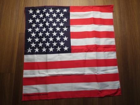 "U.S.Bandana ""The Stars and Stripes"" new"