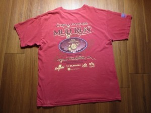 "U.S.MARINE CORPS T-Shirt ""MUD RUN"" sizeL used"