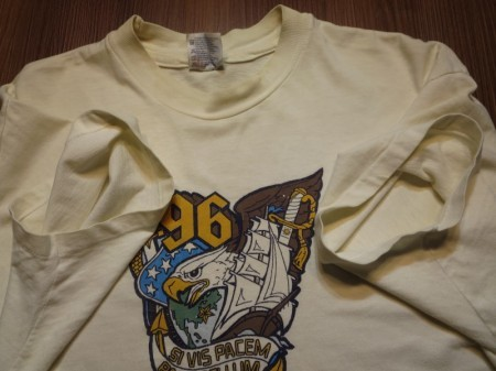 U.S.NAVAL ACADEMY T-Shirt 1996年 sizeL used