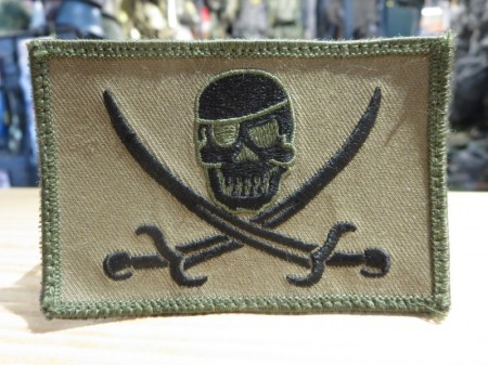 "U.S.NAVY SEAL's? Patch ""Skull"" used"