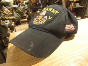 "U.S.NAVY Utility Cap ""USS BARRY DDG-52"" used"