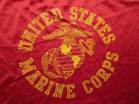 U.S.MARINE CORPS T-Shirt Mesh sizeS used