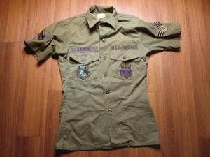 U.S.AIR FORCE Shirt Coton 1984年 sizeXS? used