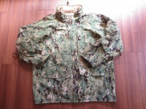 U.S.NAVY All Weather Parka TypeⅢ sizeL-Short used