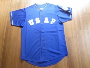 U.S.AIR FORCE Shirt BaseBall ? sizeL new